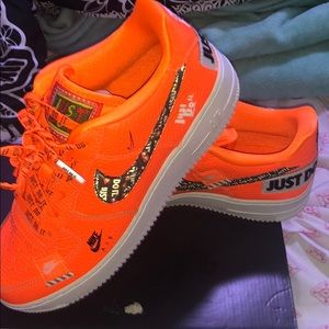 nike just do it air forces brand new never worn
